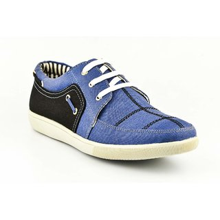 Provogue Mens Blue Casual  Lace-up Shoes (PV1076BLUEBLACK)