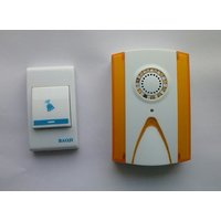 Baoji Cordless Door Bell Wireless Battery Operated Remote Calling Bell