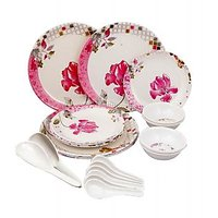 24 Pcs. Melamine Dinner Set - 90339069