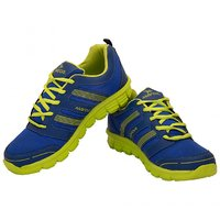 Mayor Brass Blue / Lime Green Running Shoes