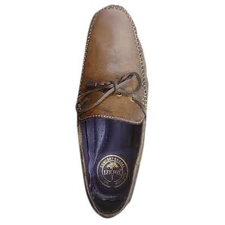 Mens Brown Casual Loafers Shoes