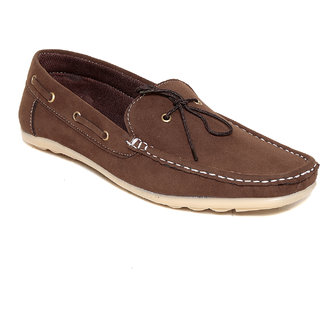 Squarefeet MenS Brown Slip On Casual Shoes (SqFSB-007Brown)