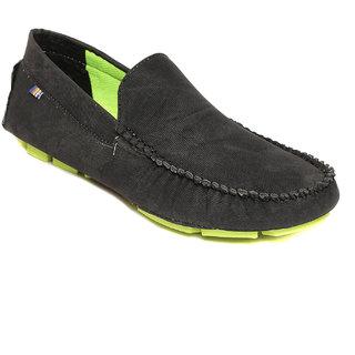 Squarefeet MenS Black Slip On Casual Shoes (SqFSB-024Black)