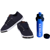 SAE Blue  White Shoe  Free One Sipper Gym Bottle Worth Rs.279