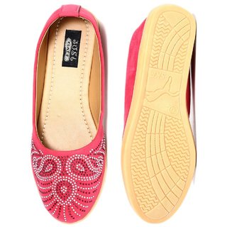 Ladies Synthetic Colored Bellies By Just Flats
