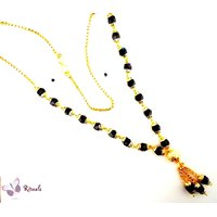Gold Plated Mangalsutra Necklace