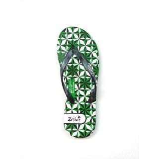 Zesture Women's Green Flip Flops