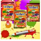 Gulal Holi Herbal Gulal Pouch Pack 100Gms 3 Packs Vedant
