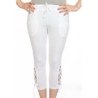 TSG BREEZE WOMEN'S CAPRI_TSG-GC-509 Design_White Colour