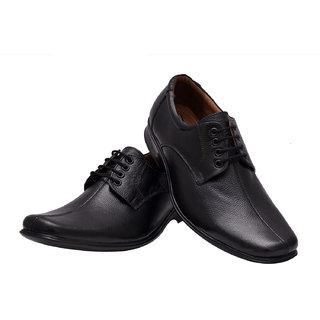 Enzo Cardini Black Formal Shoes
