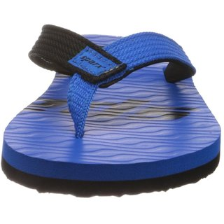 Sparx Mens Slip On Slipper Colour Blue And Black
