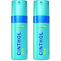 Cinthol Deo Spray DIVE (Pack Of 2 Pcs) -150 Ml