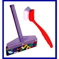 Sink Cleaner - Brush & Wiper