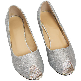 Rialto WomenS White Wedge Heel Sandals (RL-MP54-Whi)