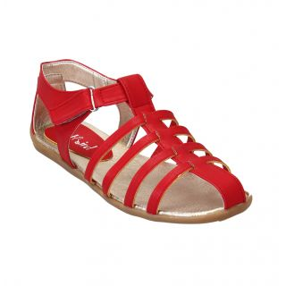 CATBIRD Women Red Flat Sandal 440