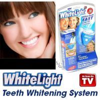 White Light Teeth Whitening System. Oral Care Dental Care Kit. As Seen On TV