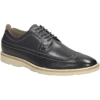 Clarks MenS Blue Formals Lace-Up Shoe (GambesonLimitDarkBlueLea)