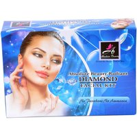 Absolute Beauty Women Girls Insta Glow Diamond Smooth Texture Skin Care Facial Kit For Dead Cells 350gm