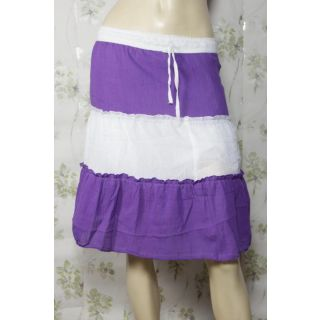 Plus Size Woomen  Pure Cotton Short Summer Skirts Summer Cool Collection Size Xx