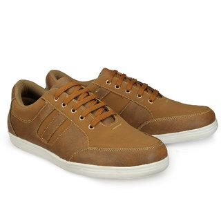 Juandavid MenS Tan Slip On Sneakers Shoes (115 Tan)