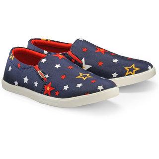 Juandavid MenS Red Slip On Sneakers Shoes (147 Red)