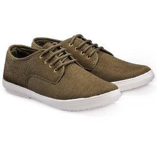 Juandavid MenS Green Slip On Sneakers Shoes (913 Green)