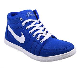 Cool River Men Blue Casual Lace-Up Shoes (4601)