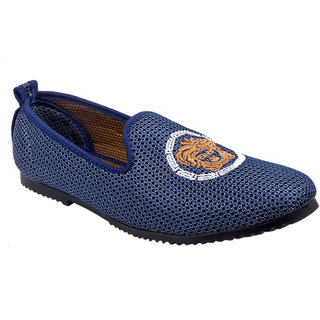 Cool River Men Blue Casual Slip On Shoes (8310-lot14)