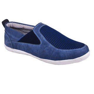 Cool River Men Blue Casual Slip On Shoes (1101)