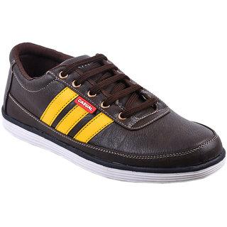 Cool River Men Tan Casual Lace-Up Shoes (4436-lot12)