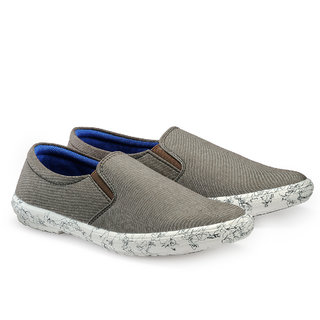 Juandavid MenS Brown Slip On Casuals Shoes (S-138 Brown)