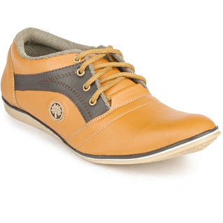Jovelyn Casual Tan And Brown Shoes 3024