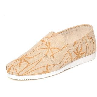 Ziera Nirvana Mens Beige Casual Espadrilles Shoes