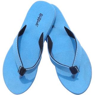 Ruggeds Women's Blue Flip Flops