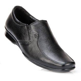 100 Walker Mens Black Slip On Formal Shoes - 91216544