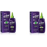 Athena D Free Overnight Anti Dandruff Lotion 50 Ml (Pack Of 2)