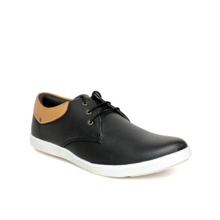 Regalia Men Black Smart Casual Shoes