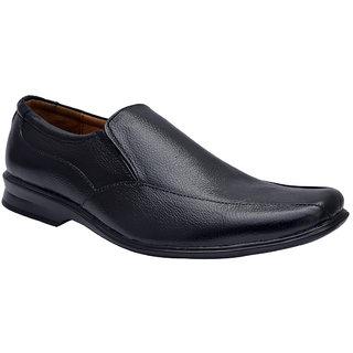Enzo Cardini Mens Black Formal Shoes
