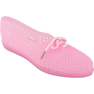 Zachho Women Pink Lace-Up Casual Shoes (HC169-Pink)