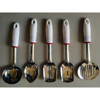 Kitchen Tool Serving Set Of 5 Pcs With Stand - 91604409
