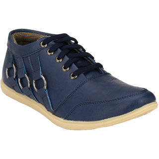 Hnt Men Blue Casual Shoes (JD666-BLU)