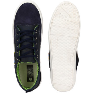 Hnt Men Navy Blue Casual Shoes (JDHOT-NVY)