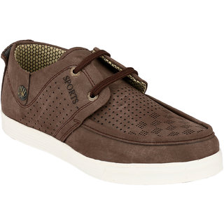 Hnt Men Brown Casual Shoes (JDV7-BRN)