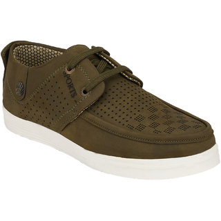 Hnt Men Green Casual Shoes (JDV7-GRN)