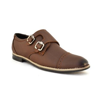 Zoot24 MenS Brown Formal Slip On Shoes (0085HOLYBRO-BROWN)