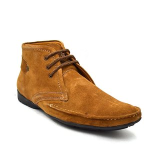 Zoot24 MenS Tan Casual Lace-Up Shoes (1230SPACE8)