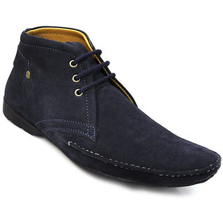 Zoot24 MenS Blue Casual Lace-Up Shoes (1230SP506-Blue)