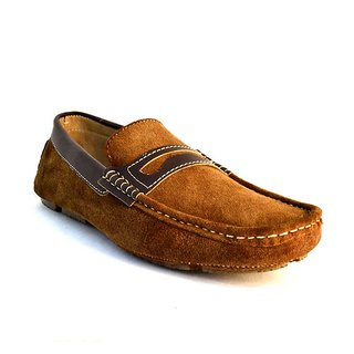 Zoot24 MenS Brown Casual Loafers (5080LUES-BROWN)