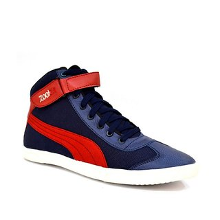 Zoot24 MenS Blue Casual Lace-Up Shoes (6042CULTRBLUERED4)