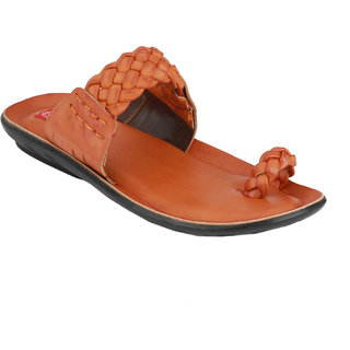 Wave Walk MenS Tan Slippers (Z4-TAN) - 91763708